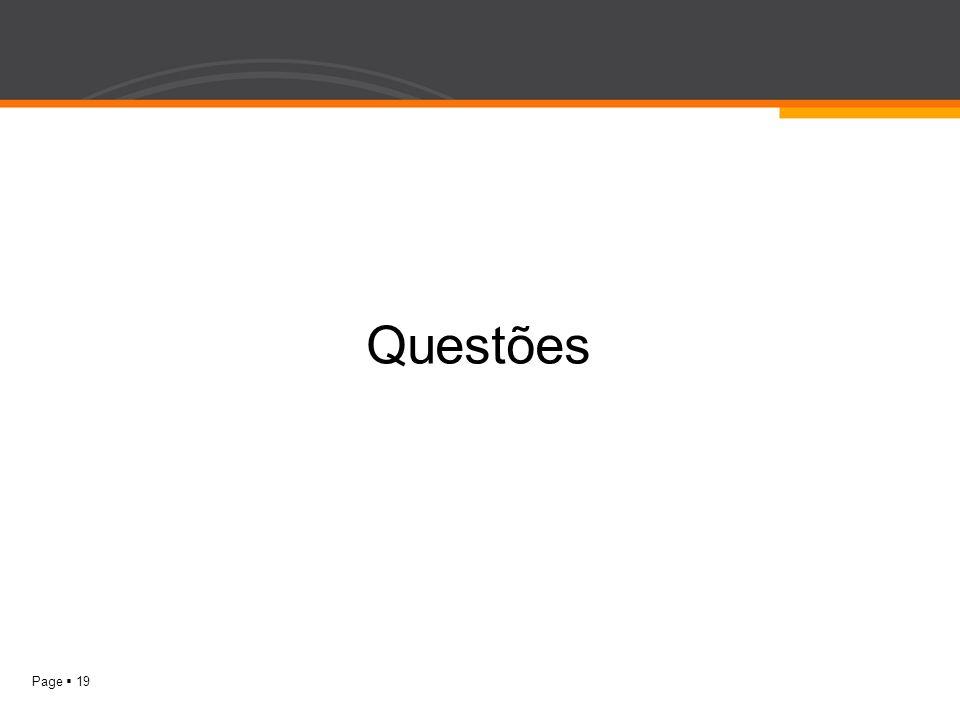 Page 19 Questões
