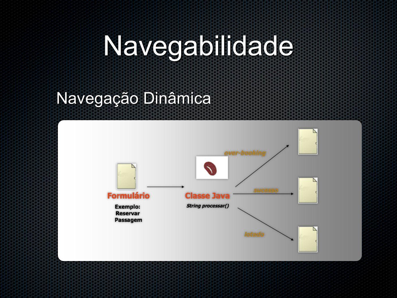 Navegabilidade Navegação Dinâmica