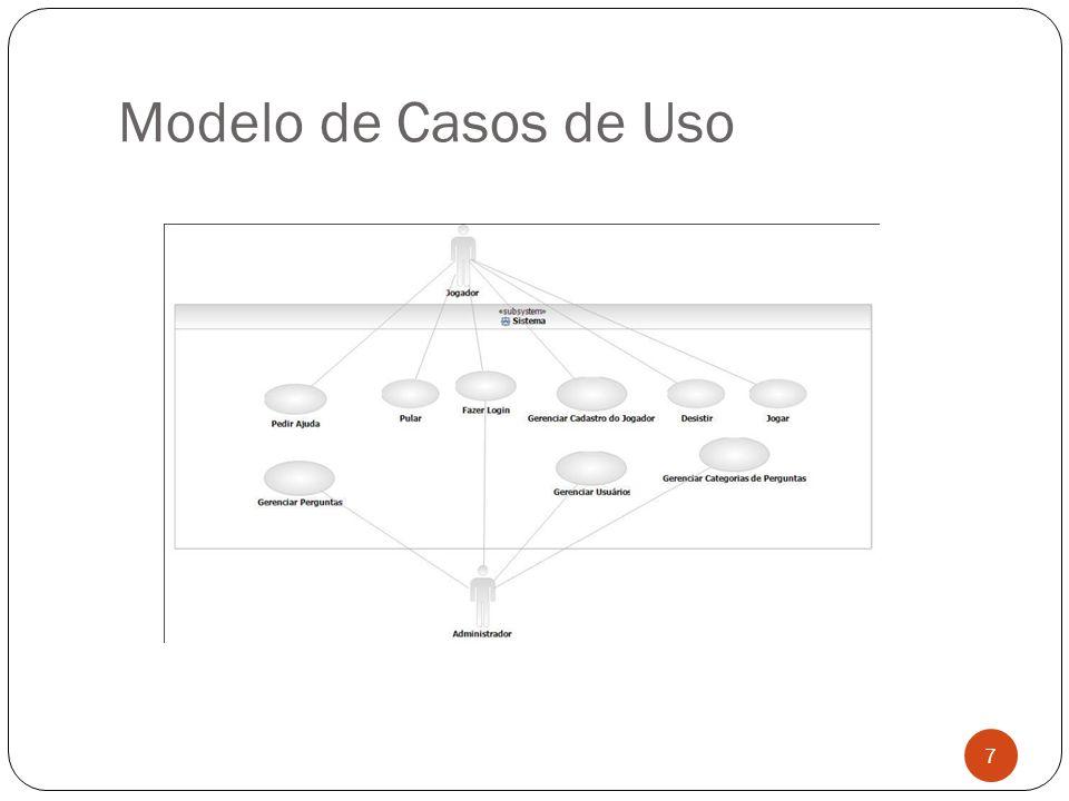 Modelo de Casos de Uso 7