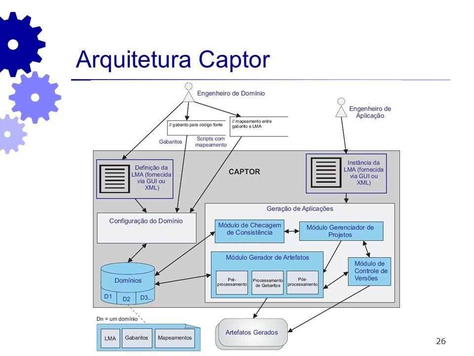 26 Arquitetura Captor