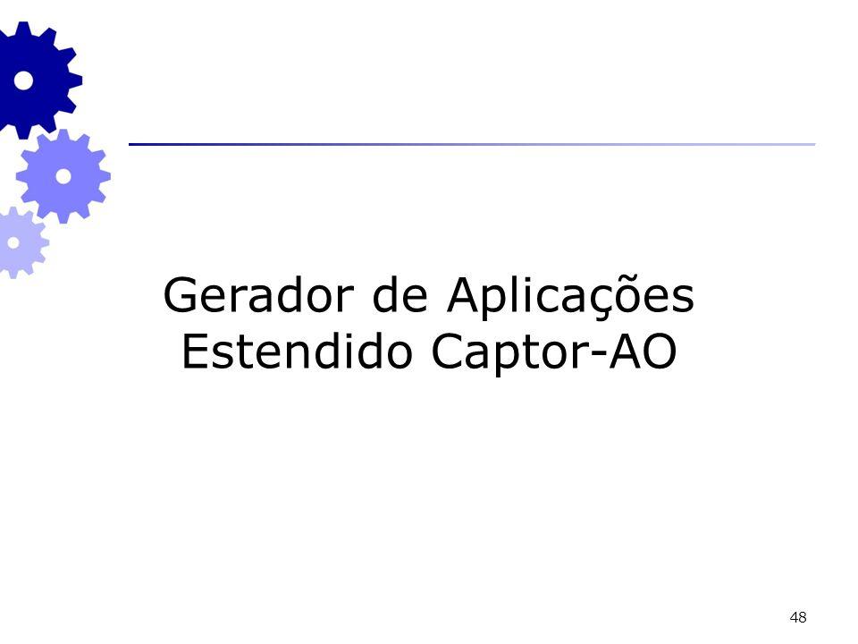 48 Gerador de Aplicações Estendido Captor-AO