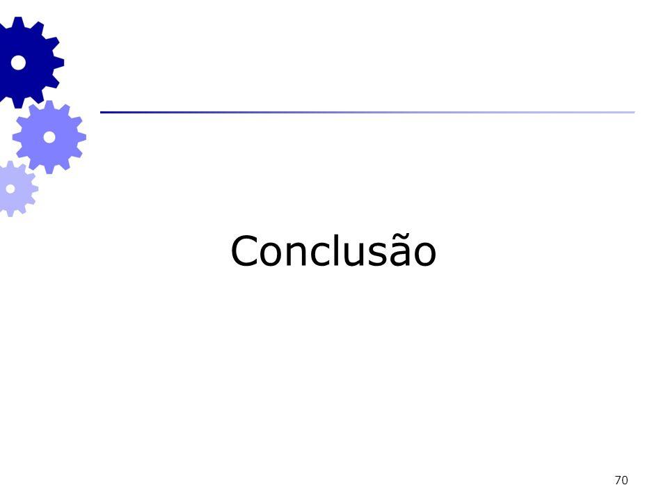 70 Conclusão