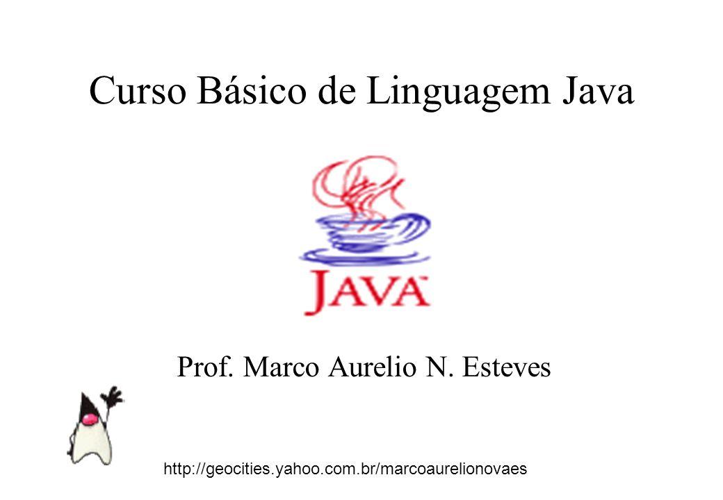 11 JAVA Tipos de Dados – Os tipos de dados em Java são portáveis entre plataformas e portanto, invariáveis Identificadores - Podem ter qualquer tamanho e caracter, a limitação vem do S.O com os nomes de classes e arquivos.