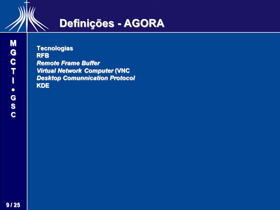 M G C T I G S C 20 / 25 Projeto proponente do compromisso poderá editá-lo na fase de configuração através do Editor TWE na opção gerar/atualizar uma rede de compromisso.