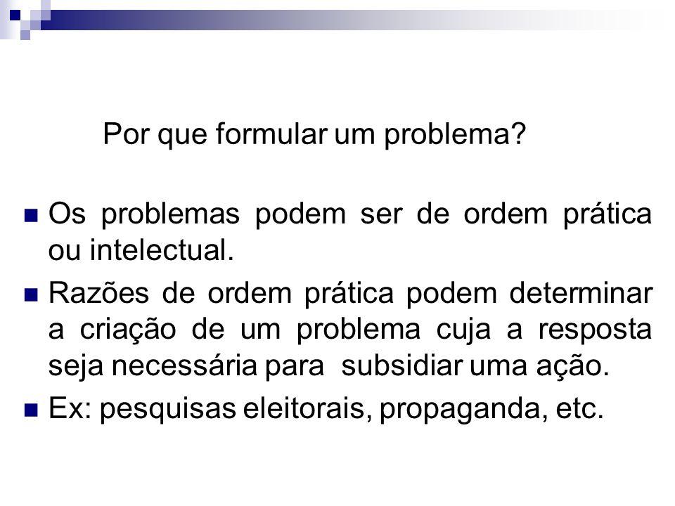 Andrea Roloff LopesMetodologia Científica Problemas científicos O problema é científico quando envolve variáveis que possam ser testadas. Ex:A desnutr
