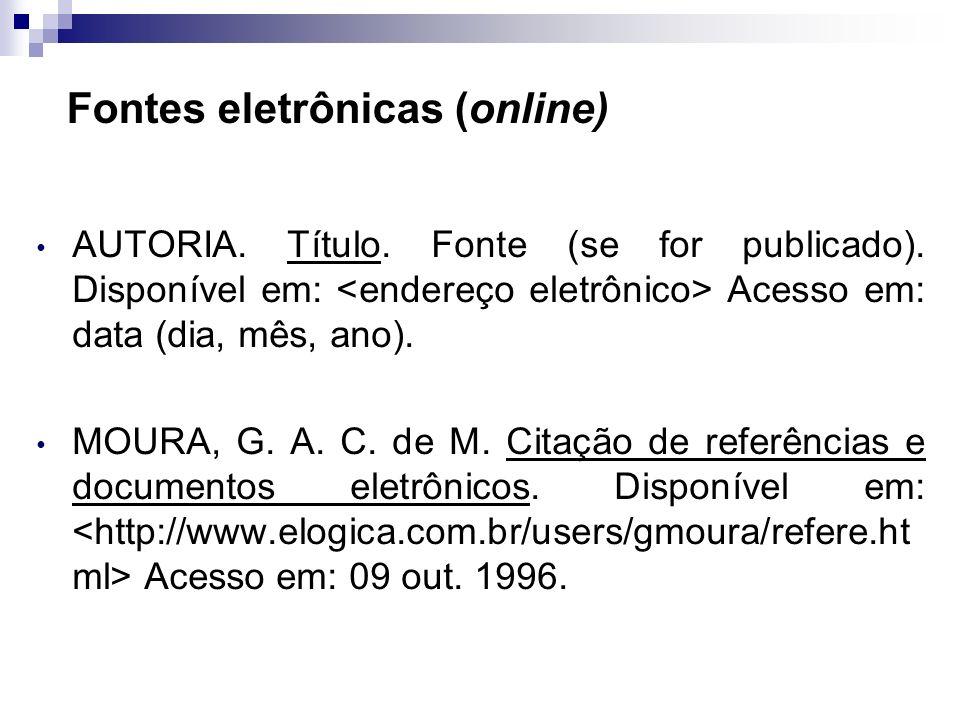Andrea Roloff LopesMetodologia Científica Edição A edição é indicada apenas quando mencionada no documento. A primeira edição não deve ser mencionada.