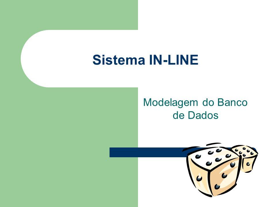 Sistema IN-LINE Modelagem do Banco de Dados
