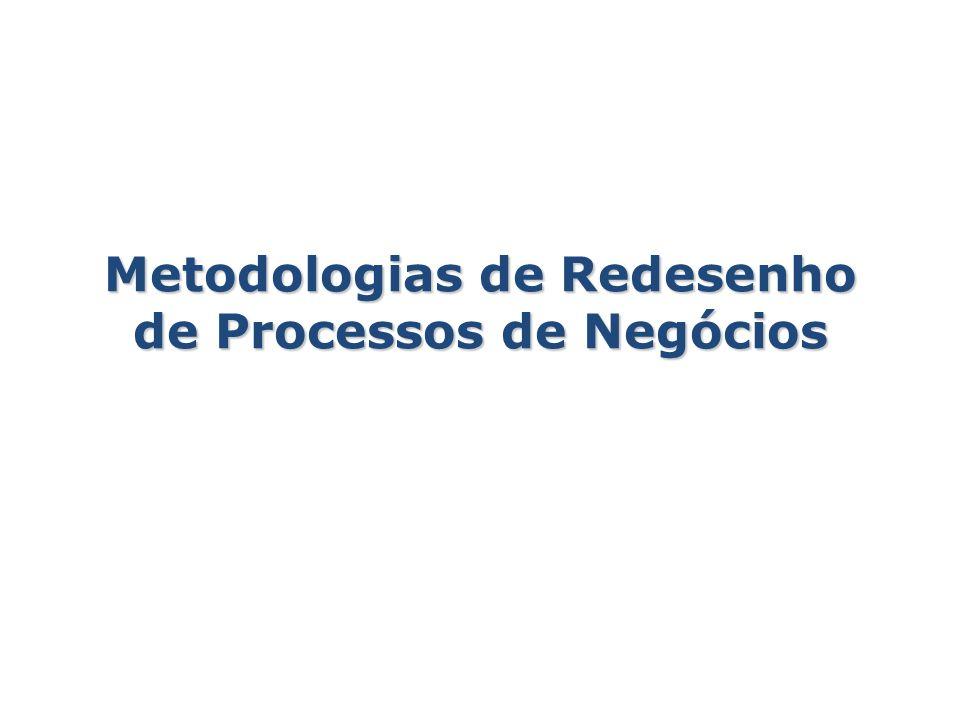 Metodologias de Redesenho de Processos de Negócios