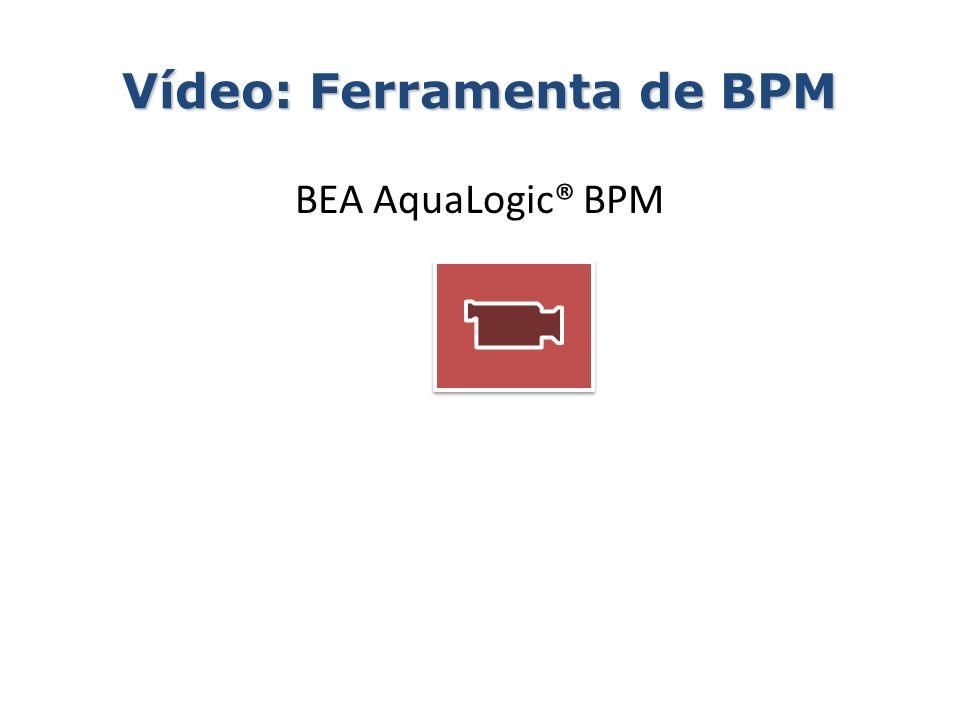 Vídeo: Ferramenta de BPM BEA AquaLogic® BPM