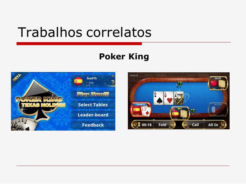 Trabalhos correlatos Poker King