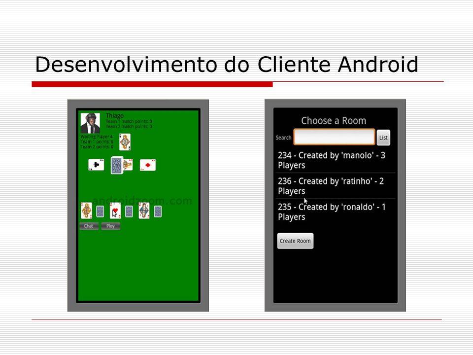 Desenvolvimento do Cliente Android