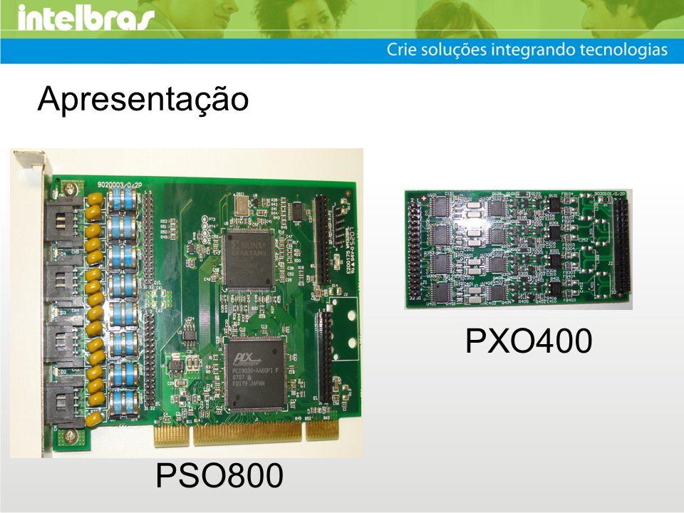Apresentação PSO800 PXO400