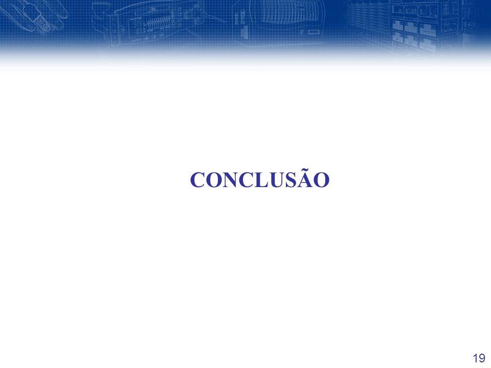 19 CONCLUSÃO