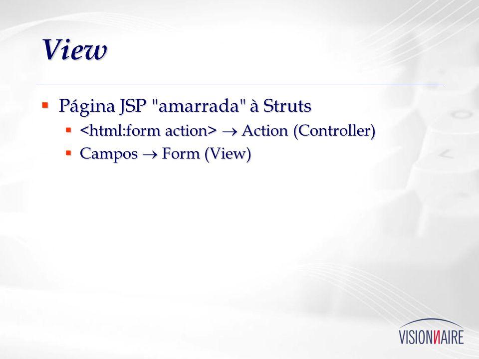 View Página JSP