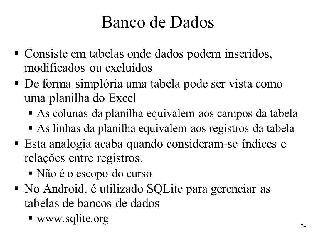 SQL - Structured Query Language Linguagem padrão para consulta a bancos de dados Construções básicas SELECT Campo1, Campo2,...