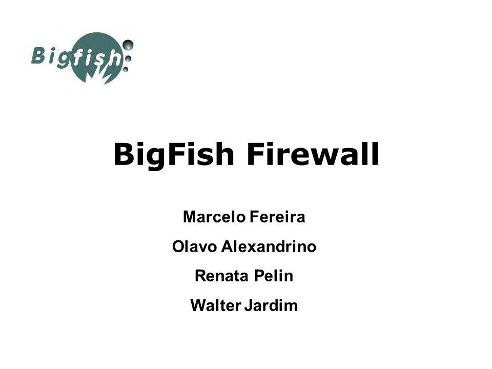 O que é BigFish Firewall BigFish Firewal é uma suíte de scripts escritos em PHP5 que trabalha como front-end do iptables para geração e administração de scripts de firewall Linux.
