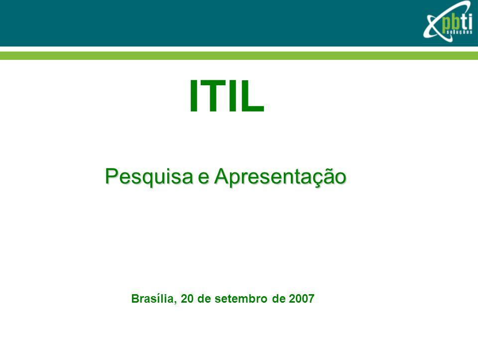 Gerenciamento Financeiro Financial Management for IT Services (FMS) Gerenciamento Financeiro para Serviços de TI