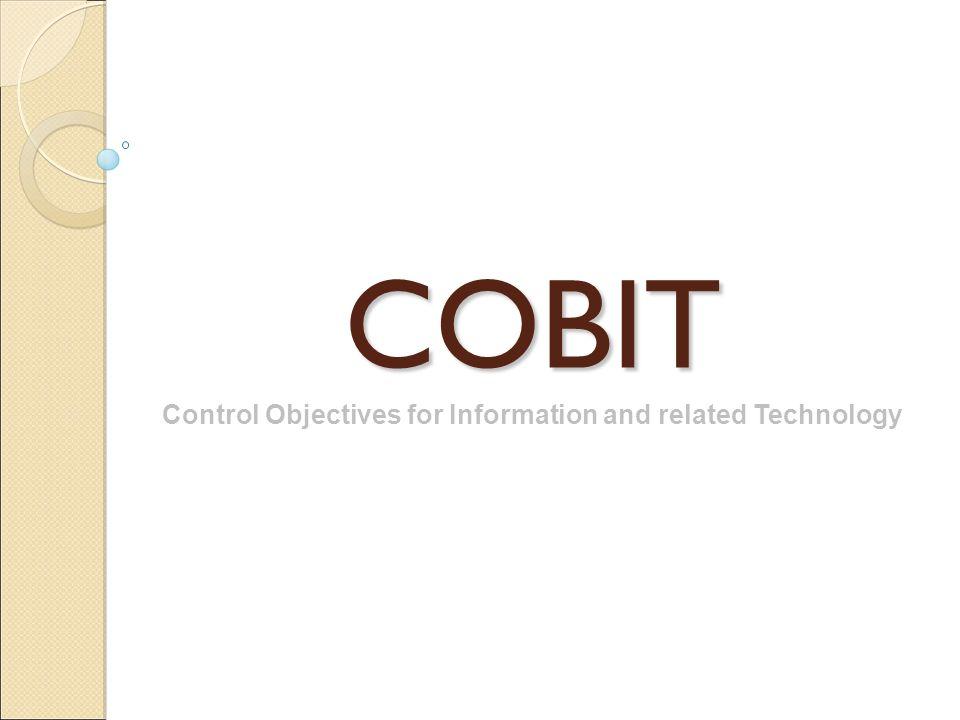 SUMÁRIO 1.COBIT – Origem e Definição 2. Governança Corporativa e TI 3.