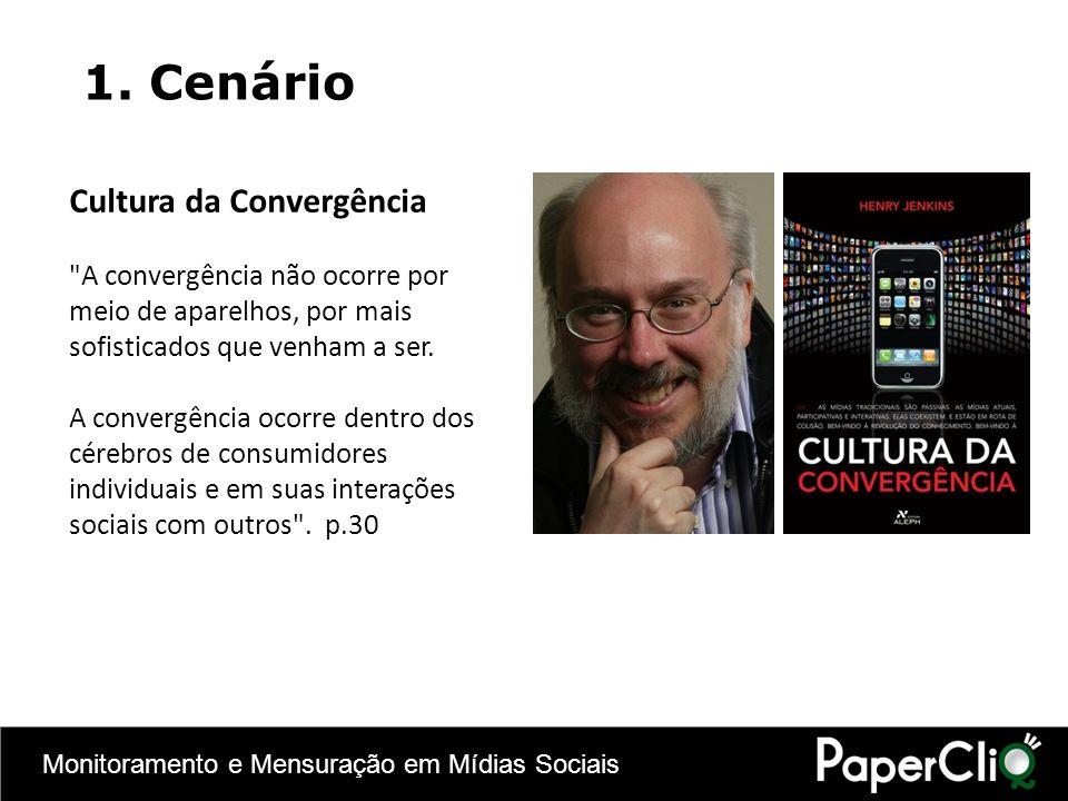 Monitoramento e Mensuração em Mídias Sociais Cultura da Convergência
