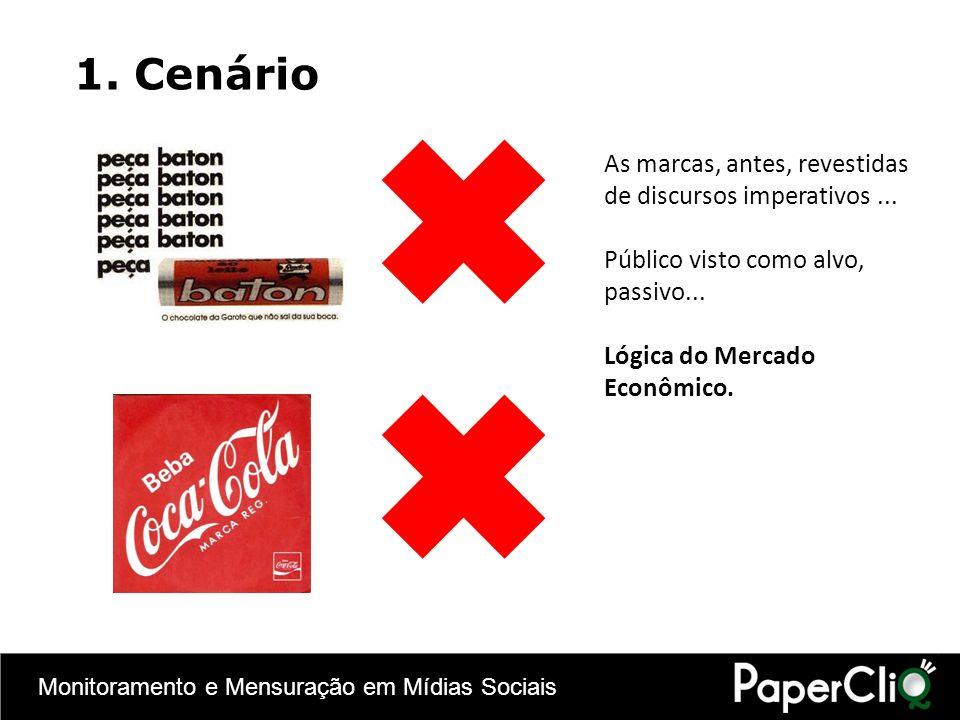 Monitoramento e Mensuração em Mídias Sociais Mídias Sociais e o ecommerce no Brasil: relatório da Deloitte, maio 2010.Deloitte 2.