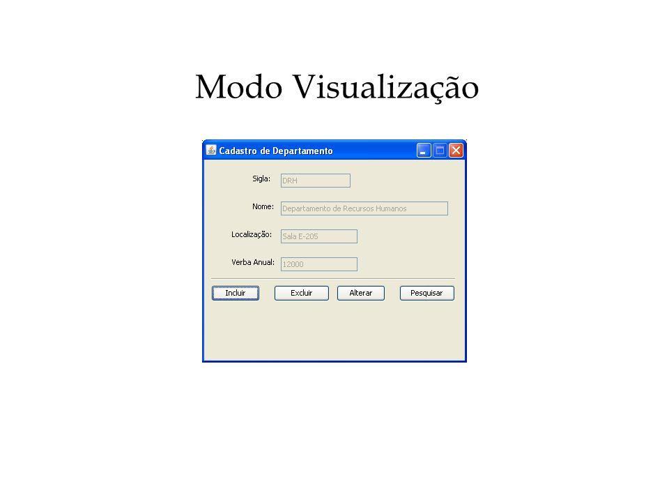 Modo Visualização