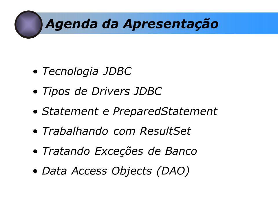 O que é JDBC.