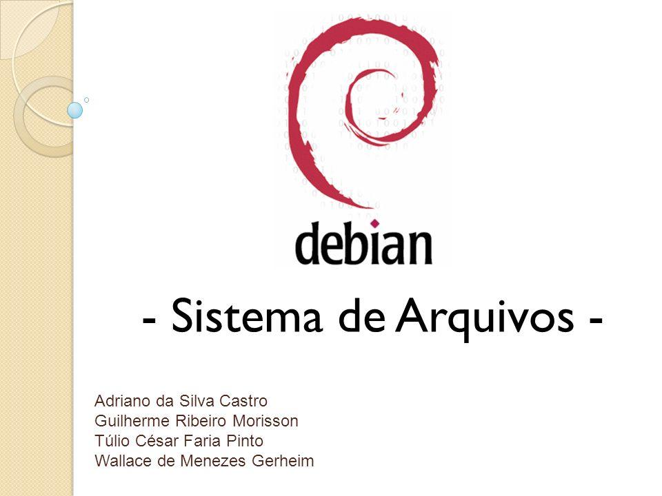 - Sistema de Arquivos - Adriano da Silva Castro Guilherme Ribeiro Morisson Túlio César Faria Pinto Wallace de Menezes Gerheim