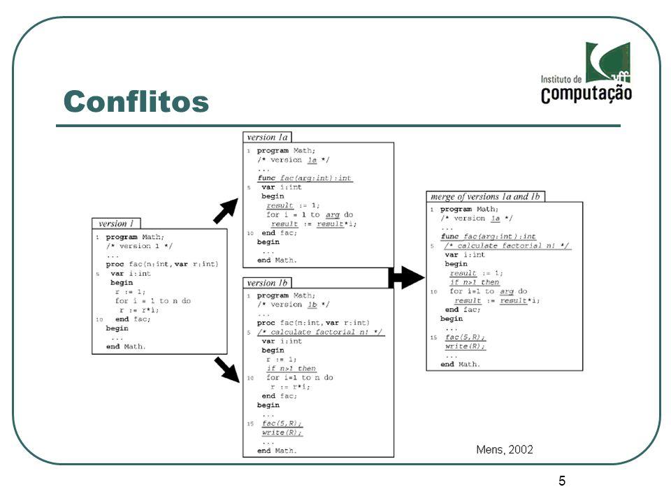 16 Definição da Interface 2º release Módulo mais integrado Tentativa de maior relação com o algoritmo de diff Levar em consideração a estratégia de armazenamento se possível Estudo de outras alternativas