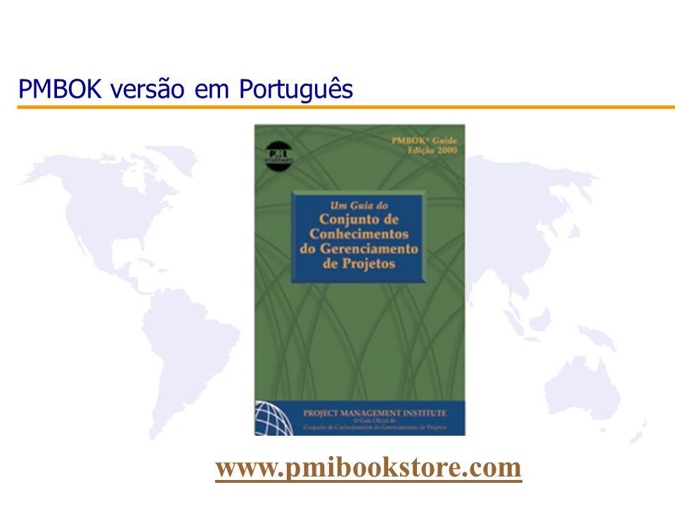 PMBOK versão em Português www.pmibookstore.com