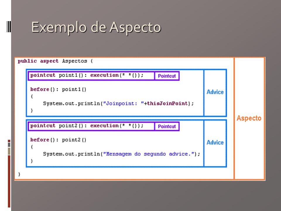 Exemplo de Aspecto