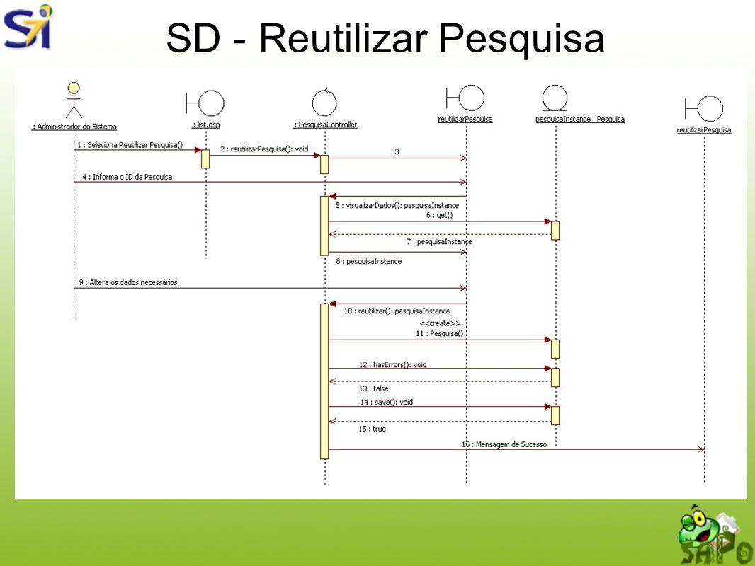 SD - Reutilizar Pesquisa