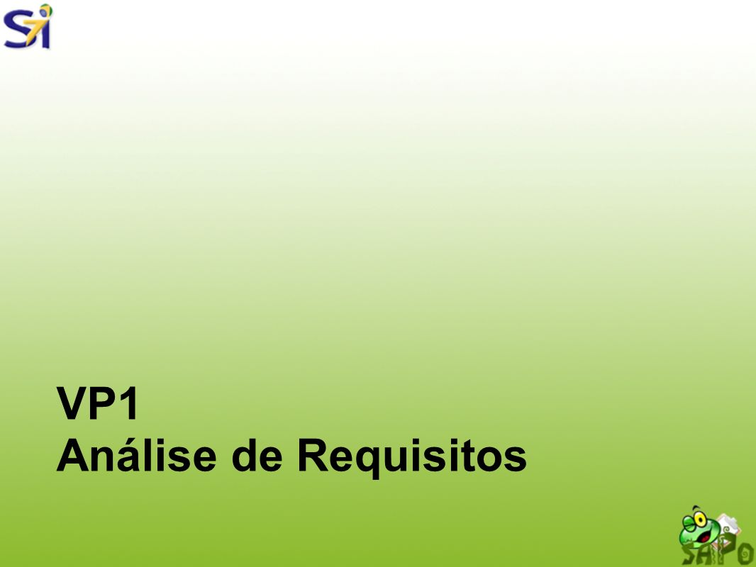VP1 Análise de Requisitos