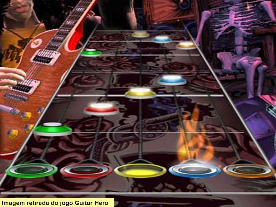 Imagem retirada do jogo Guitar Hero