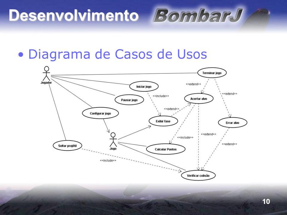 10 Desenvolvimento Diagrama de Casos de Usos