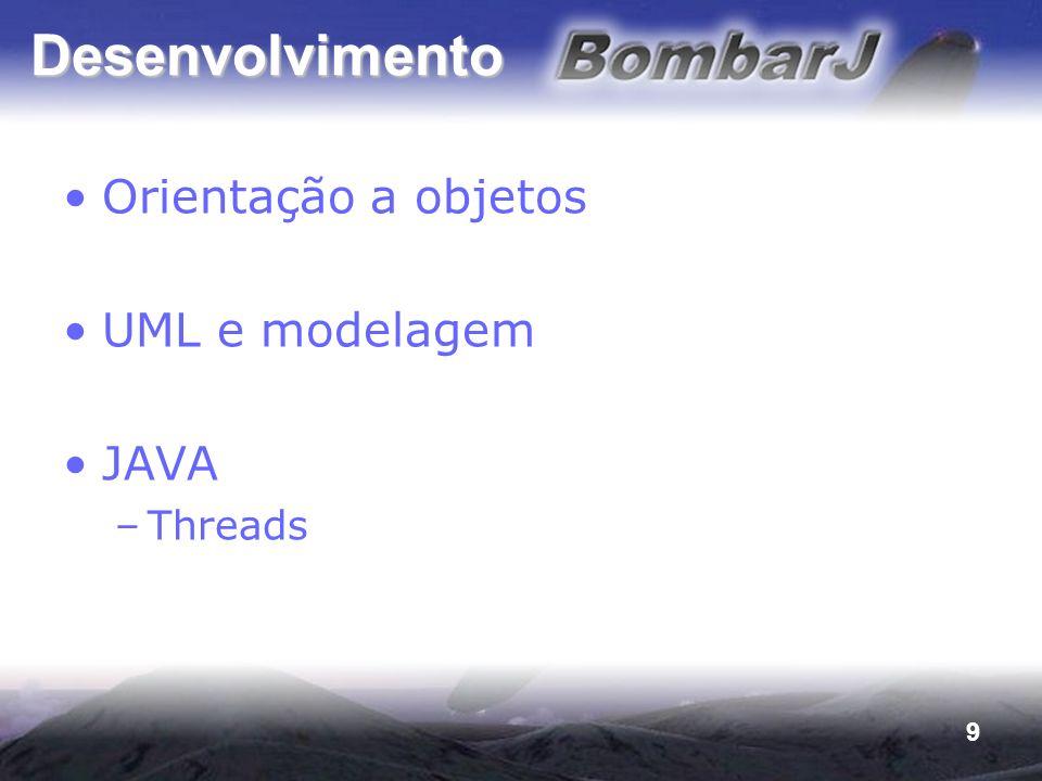 9 Desenvolvimento Orientação a objetos UML e modelagem JAVA –Threads