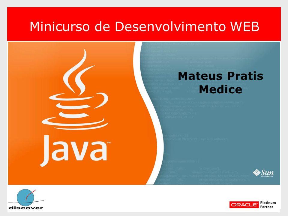 Mateus Pratis Medice Minicurso de Desenvolvimento WEB