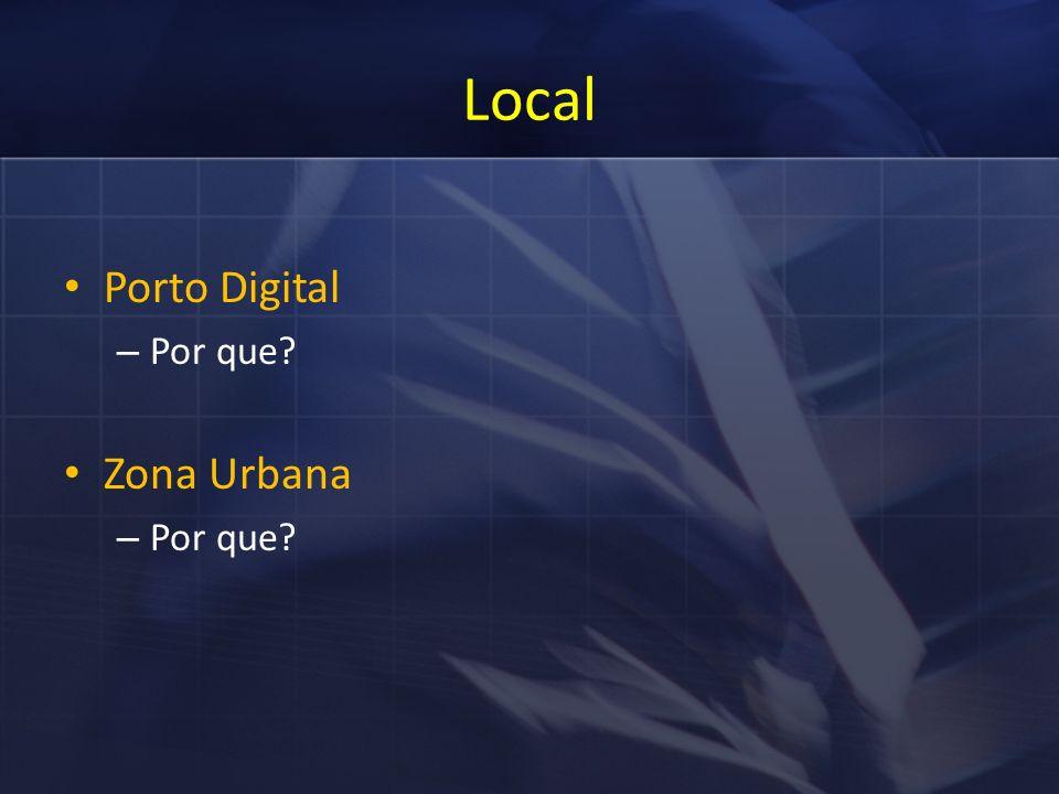 Local Porto Digital – Por que Zona Urbana – Por que