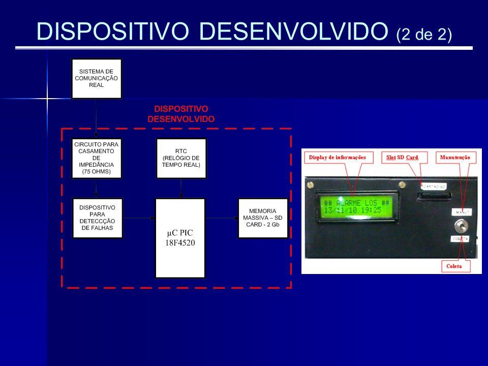 DISPOSITIVO DESENVOLVIDO (2 de 2)