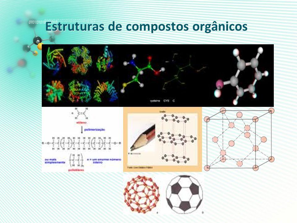 Estruturas de compostos orgânicos