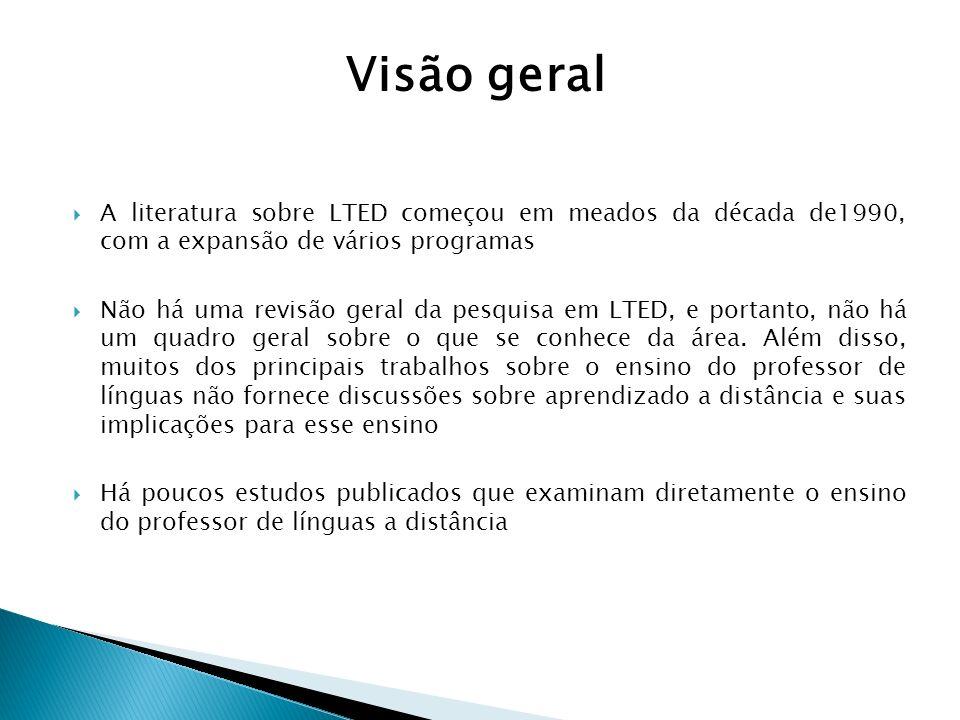 A literatura sobre LTED começou em meados da década de1990, com a expansão de vários programas Não há uma revisão geral da pesquisa em LTED, e portant