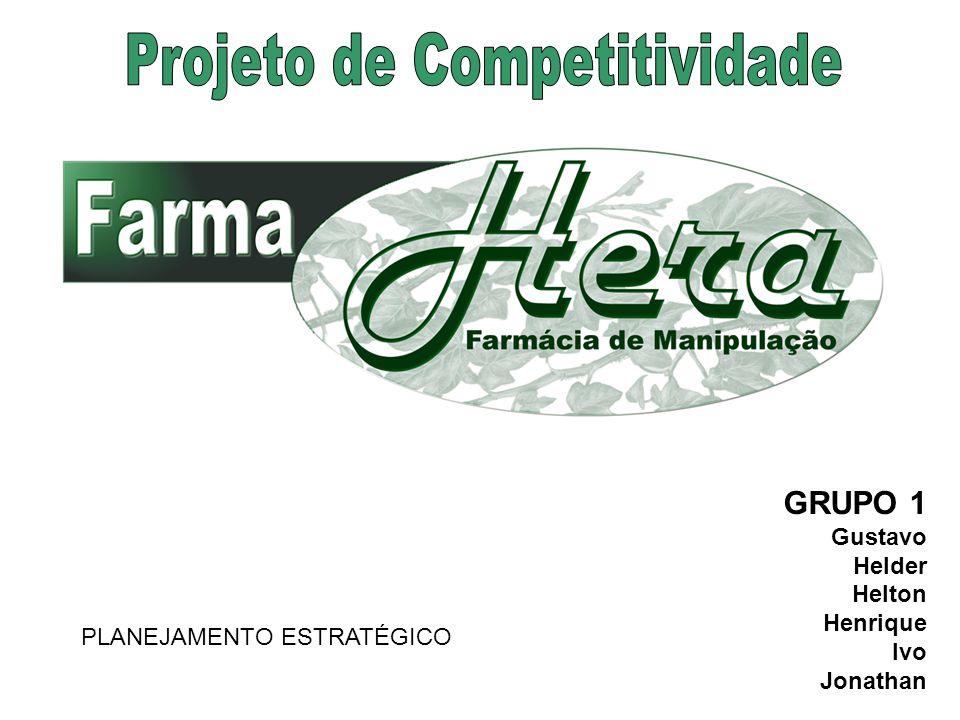Farmácia de Manipulação fundada em 2000 Localização: S.