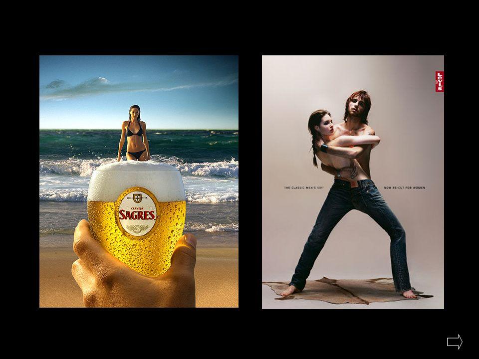 PUBLICIDADE ARTÍSTICA / ESTÉTICA Neste tipo de publicidade é frequente encontrar anúncios cada vez mais bonitos de apreciar devido, principalmente, ás novas tecnologias de tratamento de imagem.