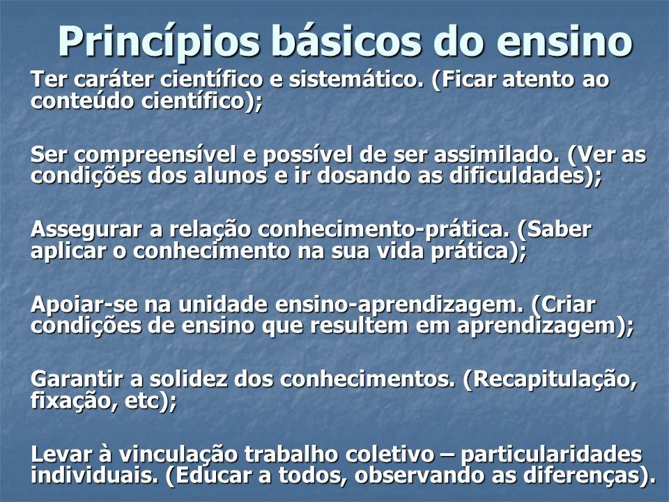 Classificação dos métodos Exposição pelo professor.