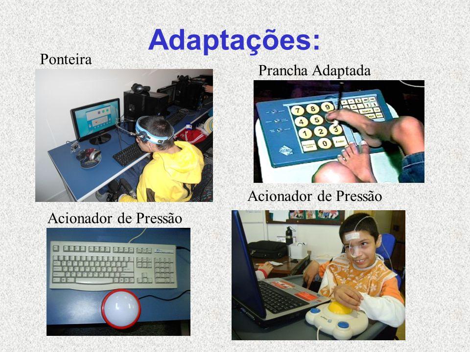 Adaptações: Acionador de Pressão Ponteira Prancha Adaptada Acionador de Pressão