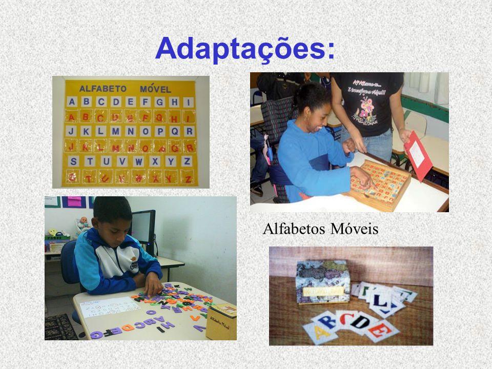 Adaptações: Alfabetos Móveis