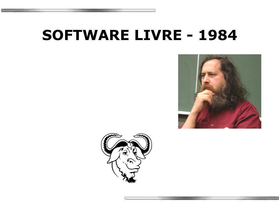 SOFTWARE LIVRE - 1984