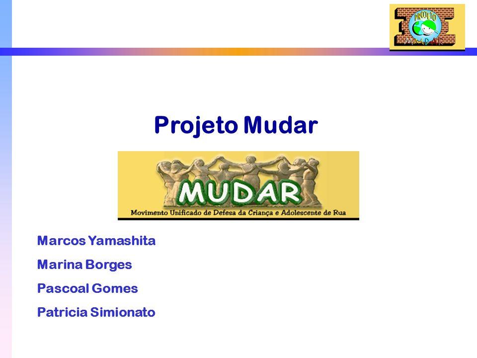 Projeto Mudar Marcos Yamashita Marina Borges Pascoal Gomes Patricia Simionato