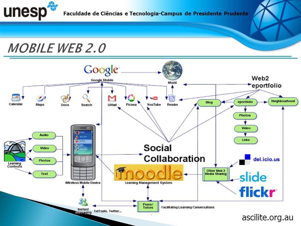 Faculdade de Ciências e Tecnologia-Campus de Presidente Prudente MOBILE WEB 2.0 ascilite.org.au
