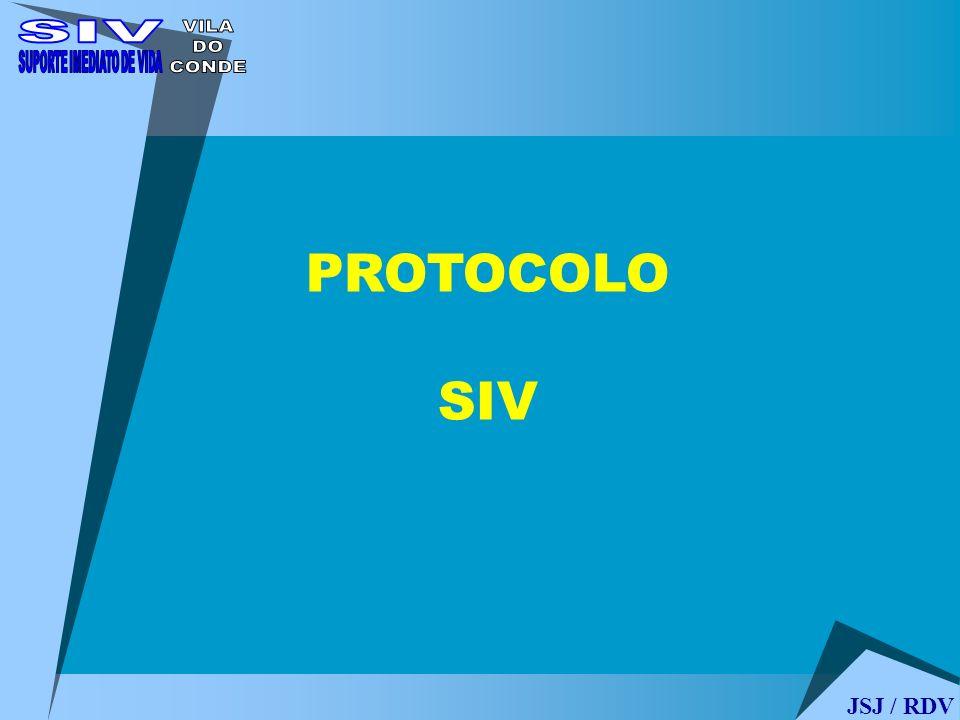 PROTOCOLO SIV JSJ / RDV