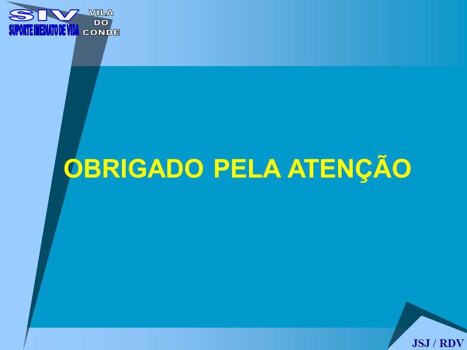 JSJ / RDV OBRIGADO PELA ATENÇÃO